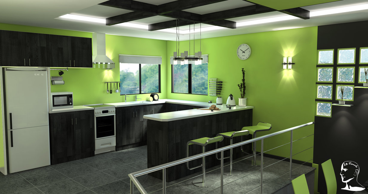 lime-green-bathroom-accessories-interior-design